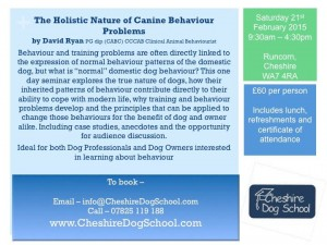 The Holistic Nature of Canine Behaviour Problems
